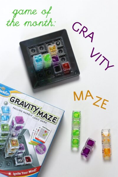 Gravity Maze by ThinkFun is good for visual perception and reasoning, important math and engineering skills.