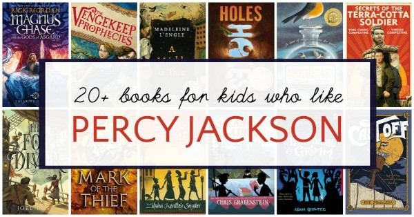 Chapter books to read after Percy Jackson.