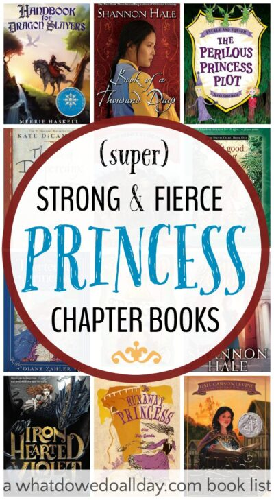 Princess chapter books that girls AND boys will love. Strong heroines and adventure.