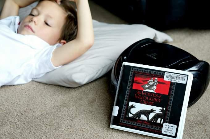 Ideas to keep kids listening to audiobooks.