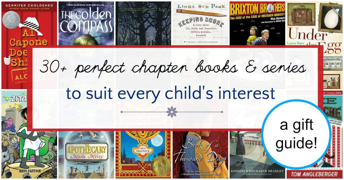 Perfect gift for every kids. Chapter books to suit all interests.