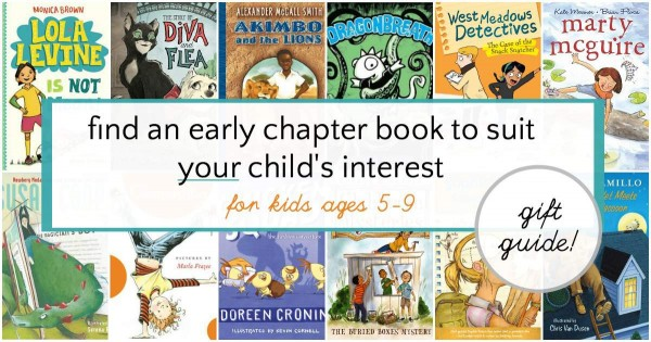 Fantastic early chapter books that are great for all children. Save this list for gifts for your kids.