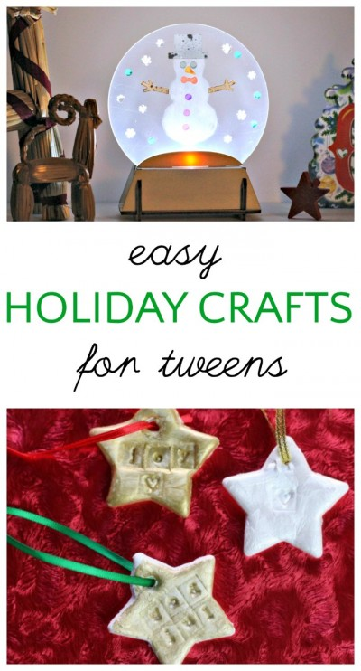 easy christmas crafts for tweens and kids