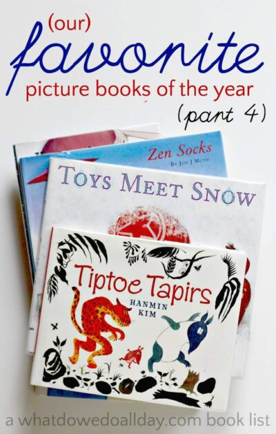 Family favorites! The best picture books of 2015. A year long effort to find the best books of the year.