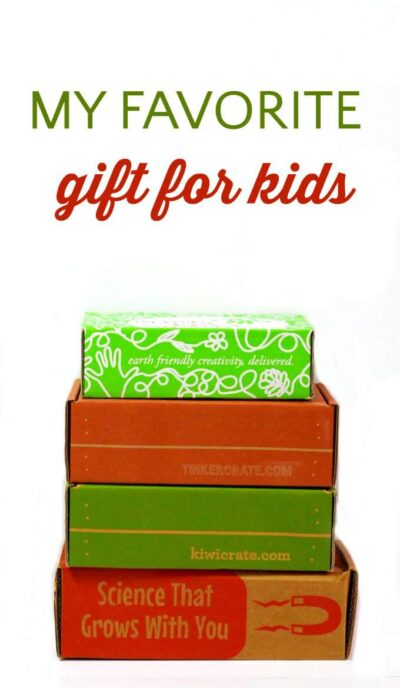 The best subscription boxes for kids. These are my favorite gifts for kids!