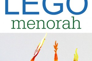 LEGO Menorah: Have a Creative and Flameless Hanukkah