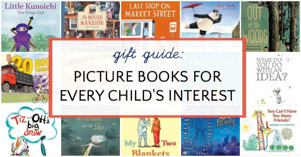 Best picture books to give as gifts.