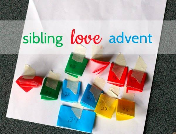 sibling advent calendar