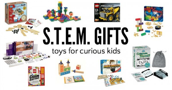 STEM toys and games. Gift guide for kids.
