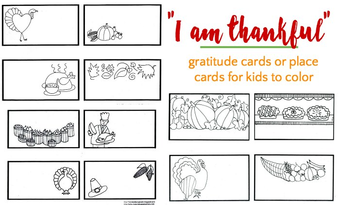 thankful cards for kids to color - Cards For Kids To Color