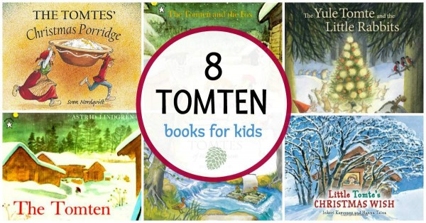 Books about tomten for kids.