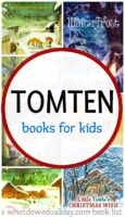 List of tomten books for kids. Includes holiday books and books for year round.