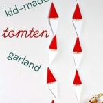 Easy Swedish Tomten Garland