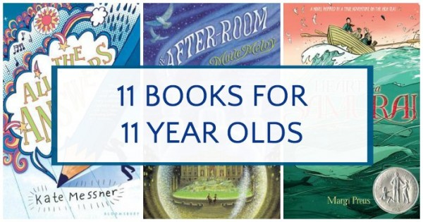 A good variety of books for 11 year olds.