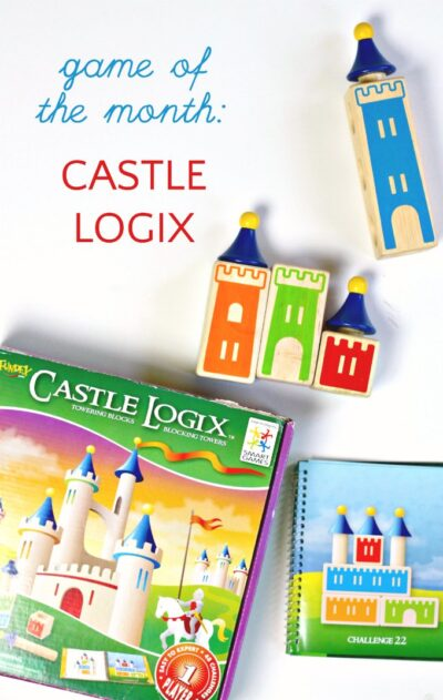Castle Logix is a spatial reasoning and logic game for kids