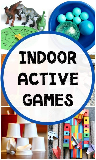 Fun Indoor games for kids that keep them moving and burn extra energy