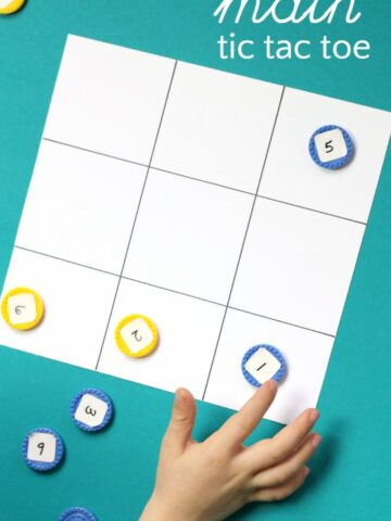 Math Tic Tac Toe is a fun way to practice early math skills with a simple game.