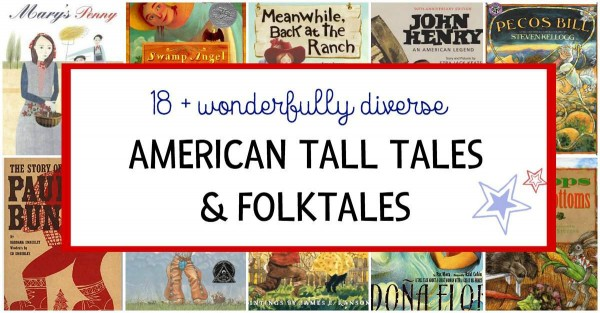 American tall tales and folktales for kids.