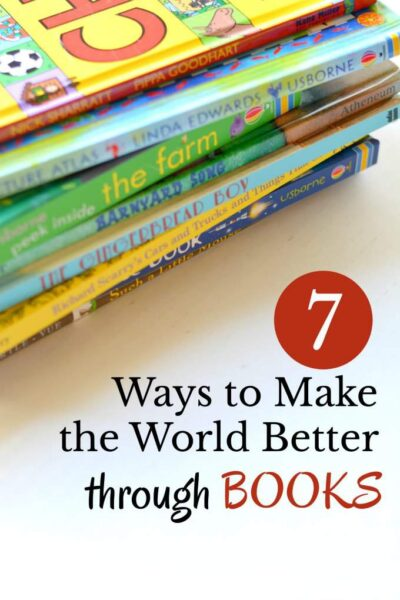 How to help children learn to serve and make the world better through books