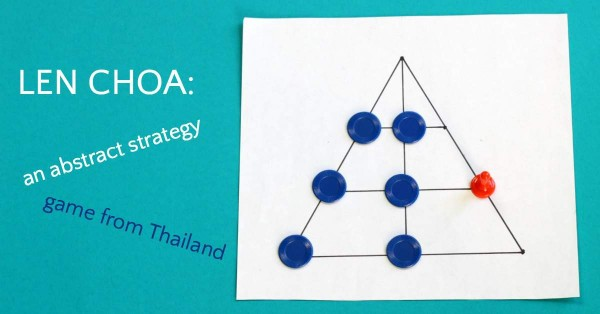 Leopards and Tiger, or Len Choa, is an abstract strategy game from Thailand.