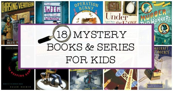 Middle Grade mysteries and detective stories for kids.