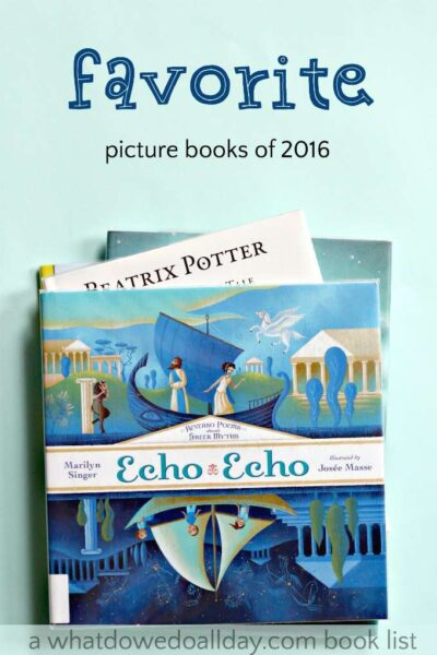Our family's favorite picture books of 2016. Fun list for kids.