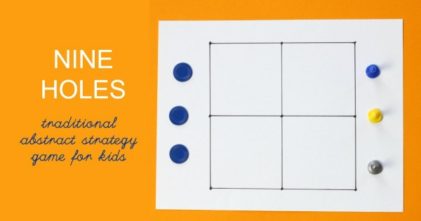Nine holes is a traditional board game from England.