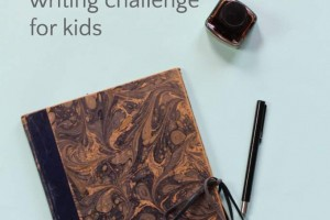 Teach kids to love poetry with this poetry writing challenge for National Poetry Month.
