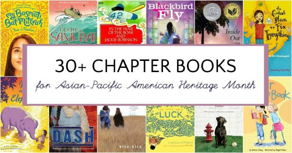 Chapter books for Asian Pacific American Heritage Month.