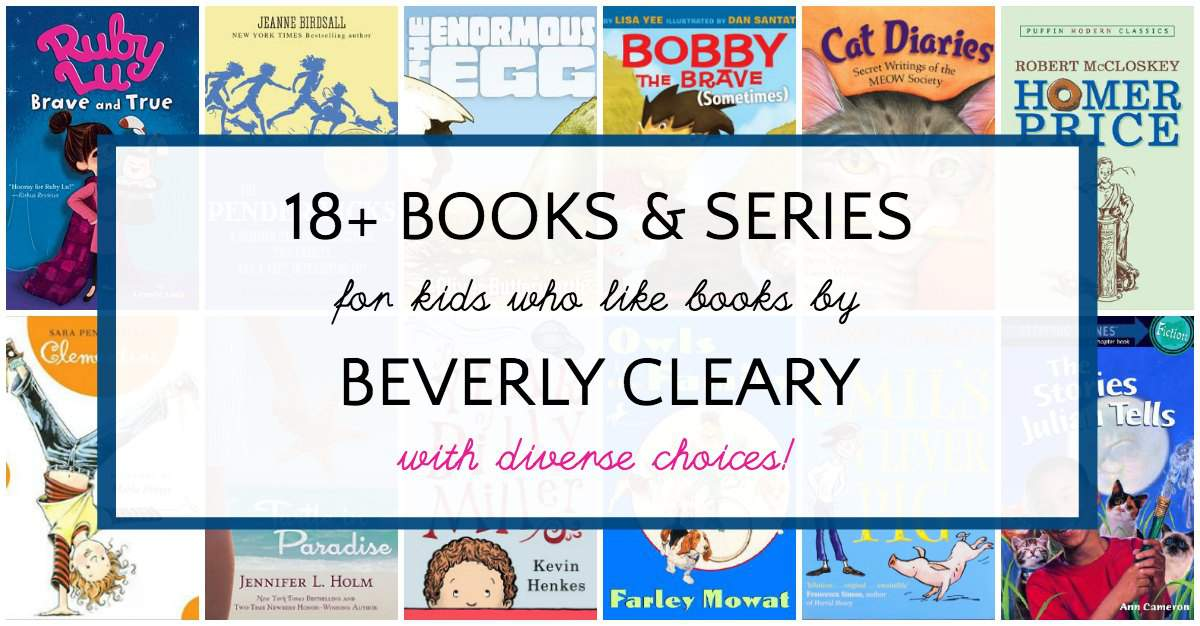 - Books For Kids Who Like Books By Beverly Cleary
