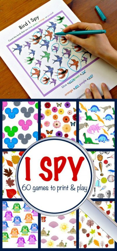 I Spy games are the perfect boredom buster to have on hand for waiting times
