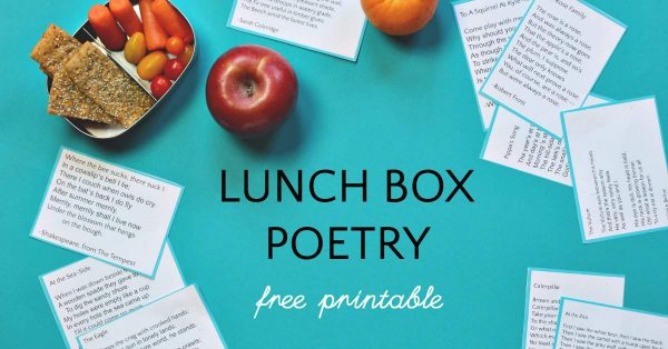 Lunch box poems for kids