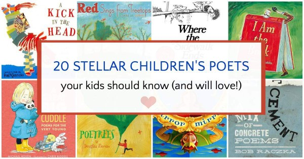 Terrific children's poets and poetry books