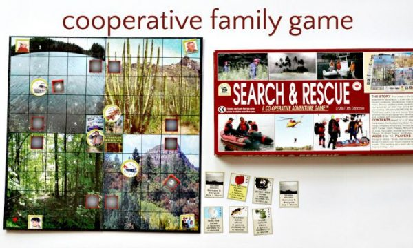 Fun cooperative game for families. Search and Rescue from Family Pastimes