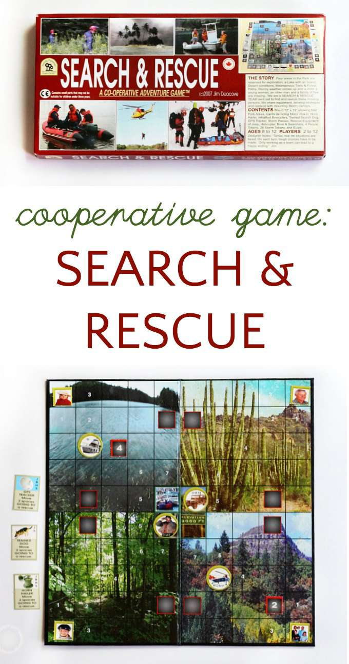Search and Rescue is a fun cooperative family game.