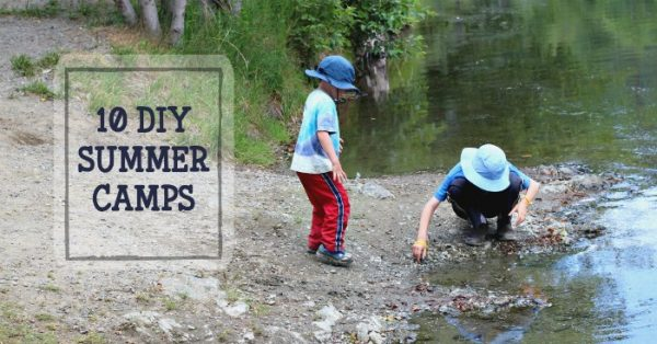 DIY summer camps at home for kids