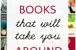 Around the world books for kids. Books for 50 countries.