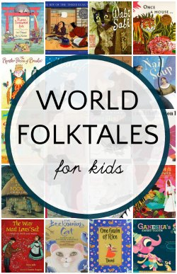 Book lists of world folktales for kids..