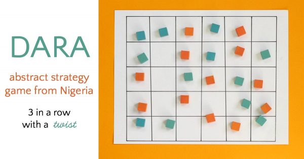 Dara from Nigeria is an abstract strategy game.