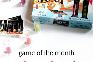 Dr. Eureka Speed Logic Game is a fun game for kids that uses visual perception and logic skills.