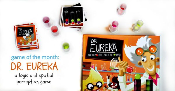 Dr. Eureka speed logic game from Blue Orange Games