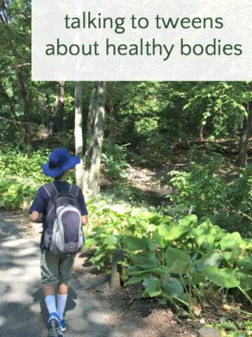 Tips for talking to tweens about healthy bodies