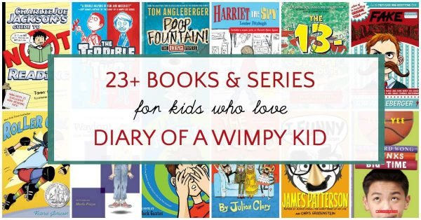Great books like Diary of a Wimpy Kid