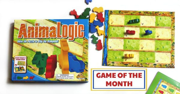 AnimaLogic game for kids is a strategy game.