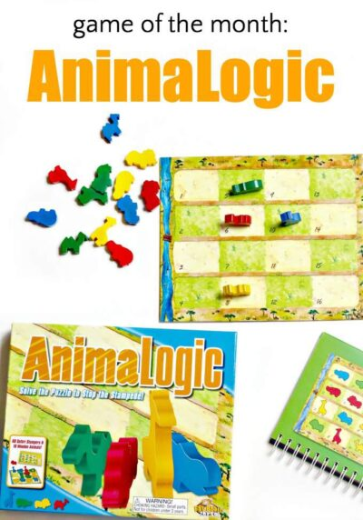 Animalogic is a solitary strategy logic game for kids