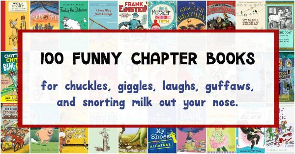 Funny chapter books that will make kids laugh.