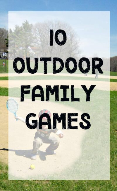 Fun outdoor family games for the backyard.