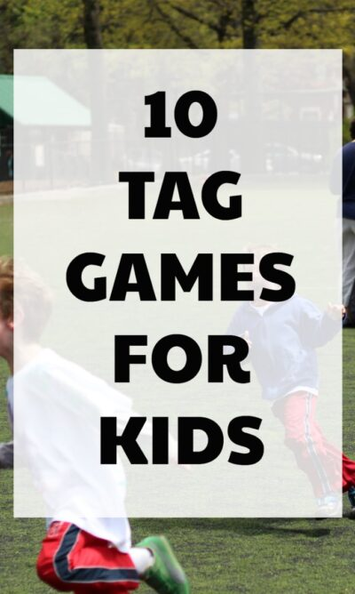 Fun tag games for kids. Chase games are great no equipment needed games!