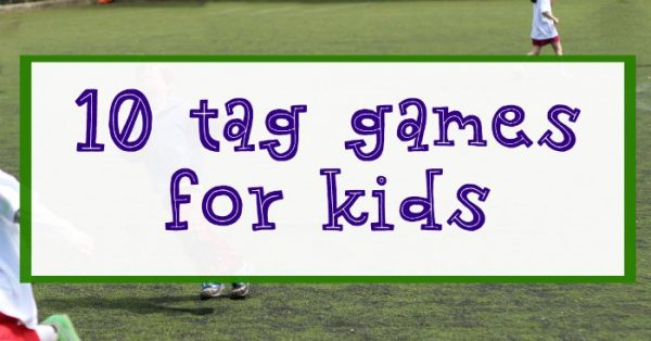 Fun tag games and chase games for kids.