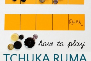 How to play Tchuka Ruma, a fun solitary Mancala game with math learning.